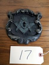 MASONIC WALL PLAQUE BY VECTOR