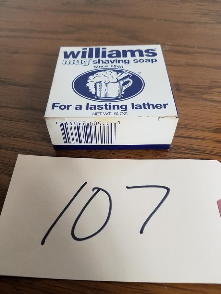 VINTAGE WILLIAMS MUG SHAVING SOAP NIB