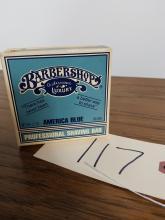 VINTAGE BARBERSHOP SHAVING SOAP W/BOX NIB