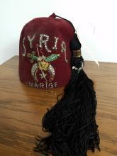 VINTAGE SHRINER ZEN HAT, SYRIA