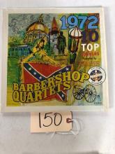 1972 TOP 10 WINNERS - BARBERSHOP QUARTET RECORD