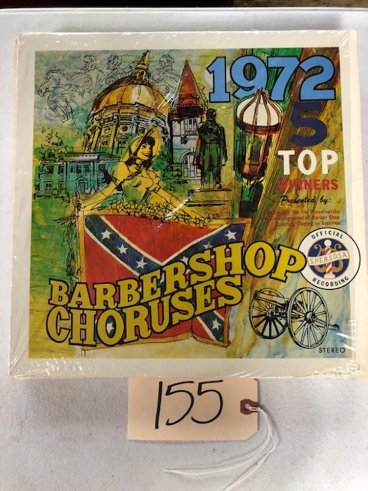 1972 TOP 5 WINNERS BARBERSHOP QUARTET RECORD