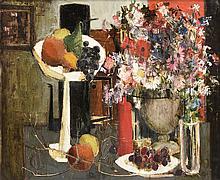 "VERNET BONFORT (French b. 1934) A PAINTING, ""Still Life,"""
