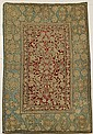 PERSIAN EMBROIDERED TAPESTRY circa 19th centuryoverall- 36