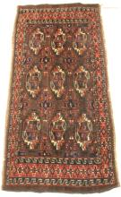 VINTAGE TRIBAL WOVEN CARPET