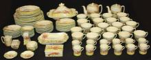ROYAL DOULTON PORCELAIN DINNER SERVICE, 110 PCS.