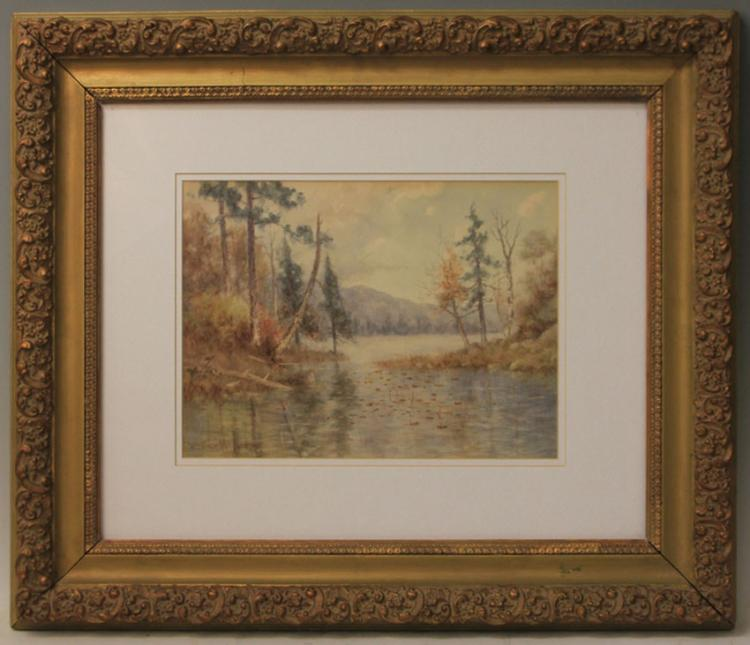 WATERCOLOR BY WEDWORTH WADSWORTH