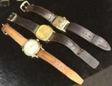 LOT OF (3) VINTAGE WRISTWATCHES
