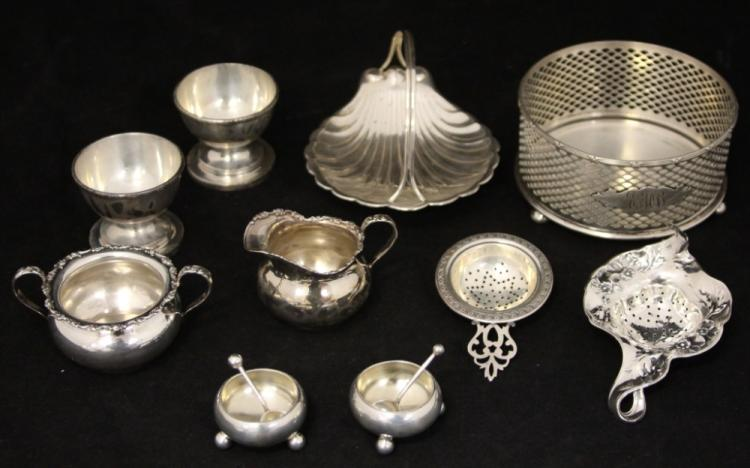 LOT OF (10) STERLING SILVER PCS.