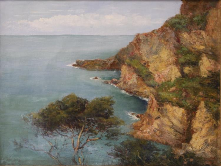 EARLY CALIFORNIA OIL ON CANVAS