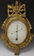 FRENCH GILT 19TH CENTURY BAROMETER