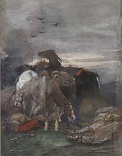 JOHN LEWIS BROWN (1829-1890), GOUACHE