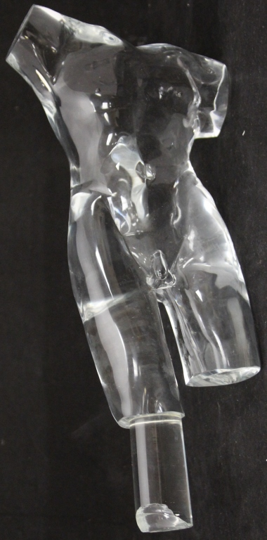 LOREDANO ROSIN GLASS SCULPTURE