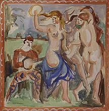 ANDRE FAVORY (1888-1937), GOUACHE