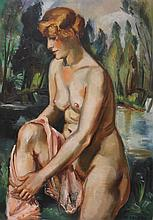 ANDRE FAVORY (1888-1937), OIL ON BOARD