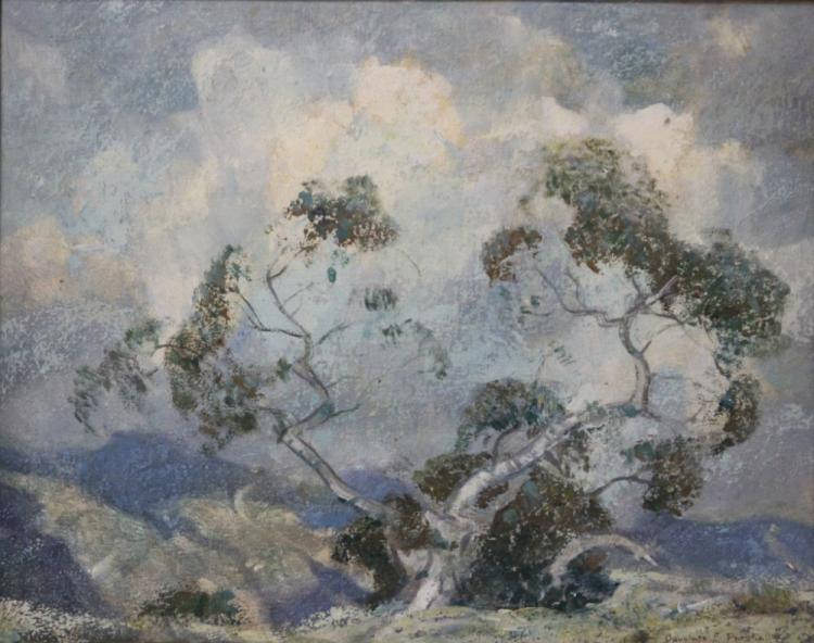 DOUGLASS PARSHALL (1899-1990), OIL ON BOARD