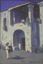 PRINCE ST. SULKOWSKY, OIL ON BOARD