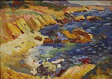IVAN ALBRIGHT (1897-1983), OIL ON BOARD