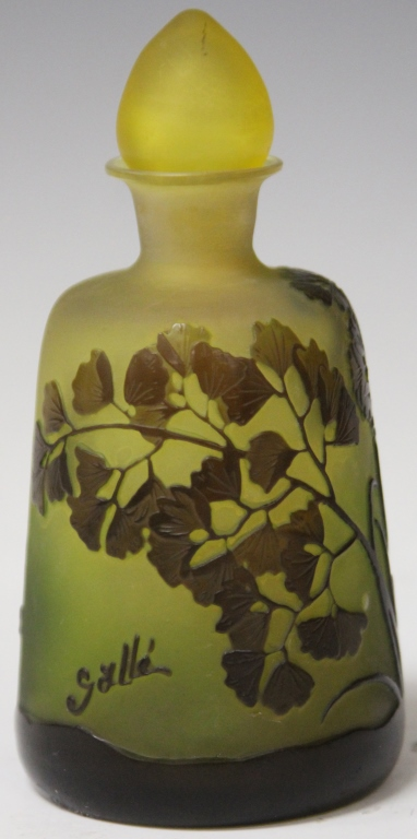 GALLE BOTTLE WITH STOPPER