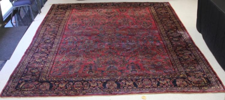 ROOMSIZE SAROUK PERSIAN CARPET, 1930s