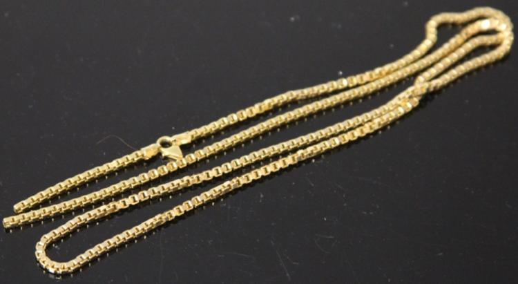 ITALIAN 14KT NECKLACE