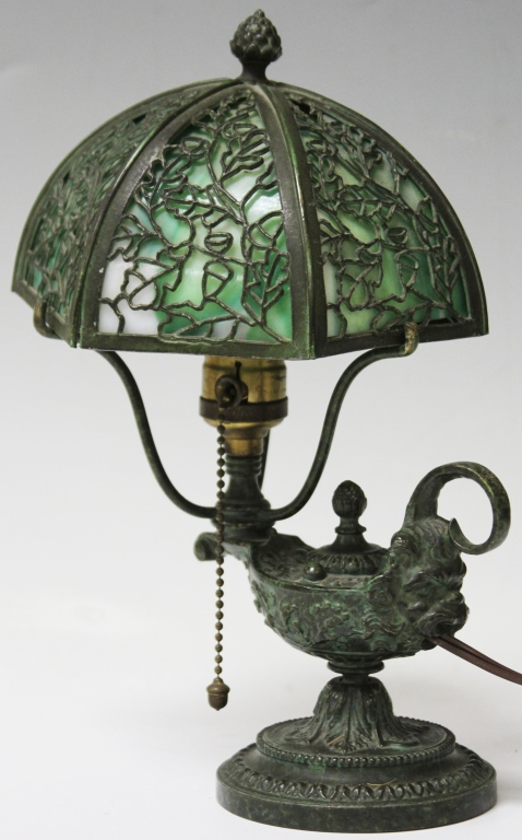 EARLY 20TH CENTURY ALADDIN LAMP