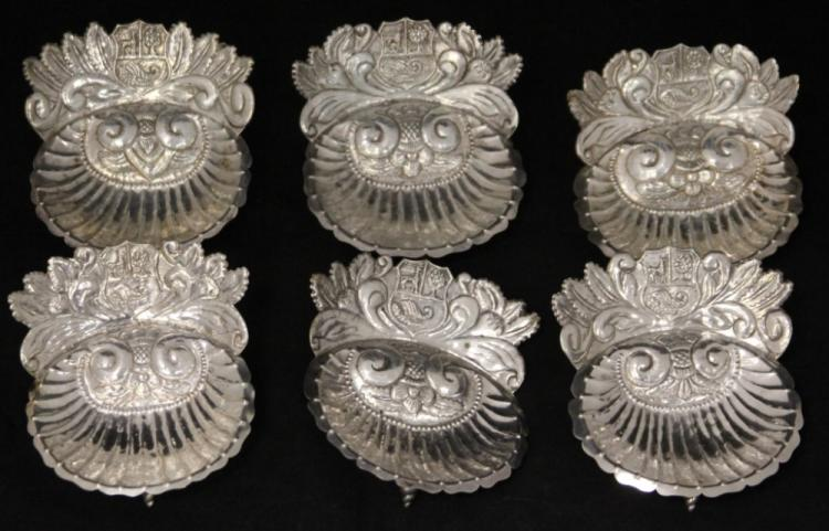 LOT OF (6) STERLING  SILVER TRAYS