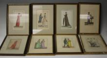 LOT OF (8) FRENCH LITHOGRAPHS
