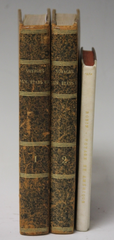 LOT OF (3) FRENCH 18TH CENTURY BOOKS