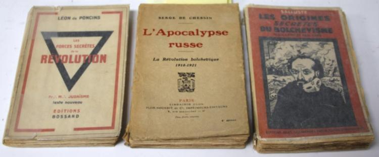 LOT OF (3) FRENCH BOOKS, INCLUDING KARL MARX