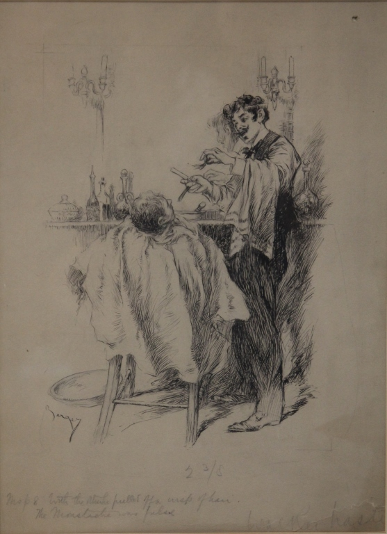 WILLIAM BERGER (b. 1872), DRAWING
