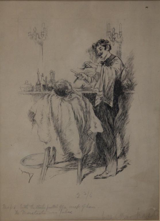 WILLIAM BERGER (b. 1872), DRAWING