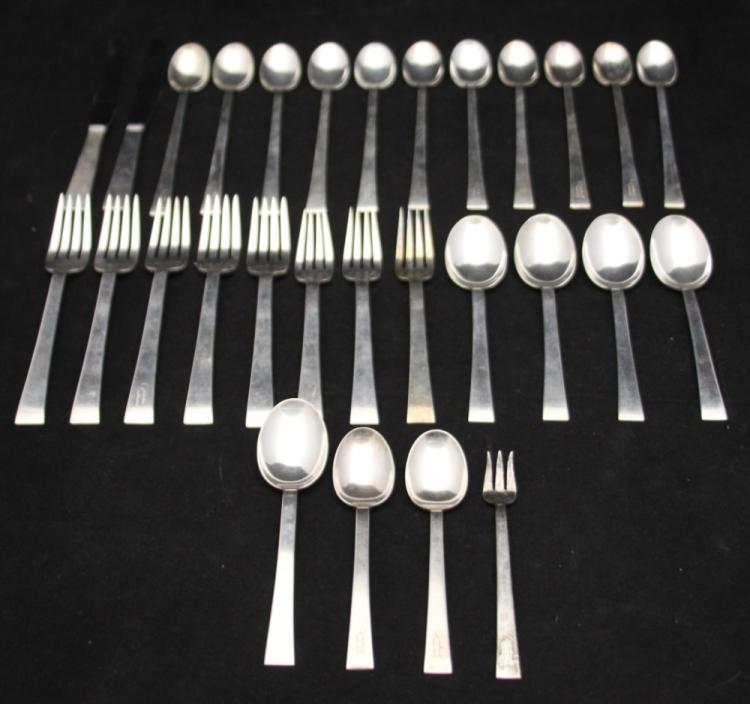 LOT OF (96) STERLING SILVER FLATWARE