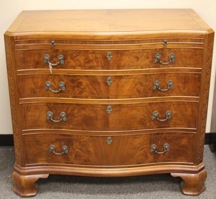 CHIPPENDALE STYLE MAHOGANY DRESSER