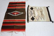 LOT OF (2) SOUTHWEST/MEXICAN WEAVINGS