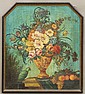 EARLY 20TH CENTURY OIL ON             CANVAS STILL LIFE             Parrot with Flowers             sight- 33