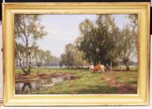 JAN HOLTROP (DUTCH, B.1917), OIL ON CANVAS
