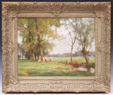 JAN HOLTROP (DUTCH, B. 1917), OIL ON CANVAS