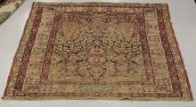 ANTIQUE KERMAN WOVEN CARPET