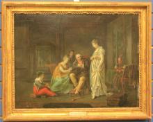 ETIENNE BARTHELEMY GARNIER (1759-1849), O/B
