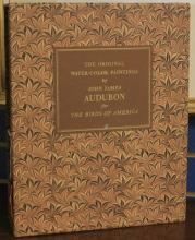TWO VOLUME SET OF J.J. AUDUBON BOOKS