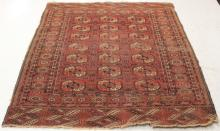EARLY TRIBAL WOVEN CARPET