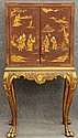 CHINESE EXPORT PAINTED CABINETON STANDheight- 56 1/4
