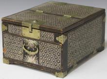 EARLY KOREAN INLAID DRESSER BOX, 19TH CENTURY