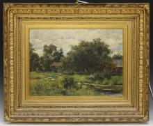 HUGH BOLTON JONES (1848-1927), OIL ON CANVAS