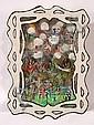 Howard Finster. River Jordan Shadowbox, #3,985., Bob Jordan, Click for value