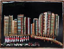 Jimmy Lee Sudduth.  New York Skyline.