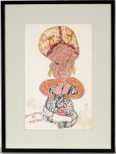 Bessie Harvey.  Nudy Body Talk.