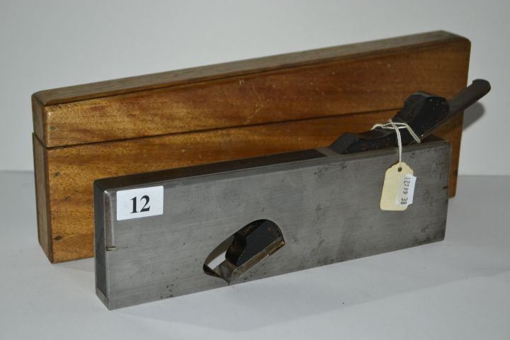 Spiers rebate plane with box