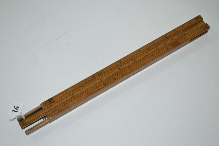 Rare Dring and Fage four slide rule